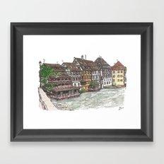 Petite France, Strasbourg Framed Art Print