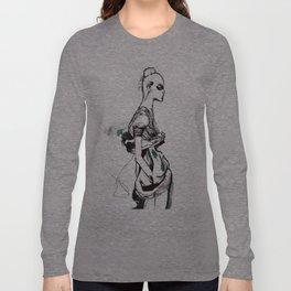Fashion Shadow Long Sleeve T-shirt