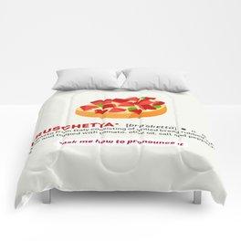 Bruschetta Comforters