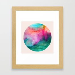 Staring at the Ceiling Framed Art Print