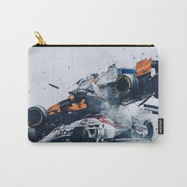 Formula One Crash Carry-All Pouch