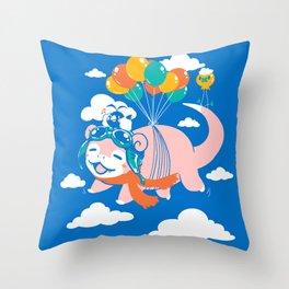 Slowpilot Throw Pillow
