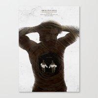 True Detective - The Secret Fate Of All Life Canvas Print