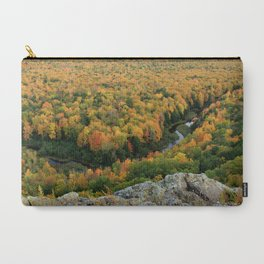 Autumn Colors at the Carp River Valley, Porcupine Mountains State Park, Upper Peninsula, MI Carry-All Pouch