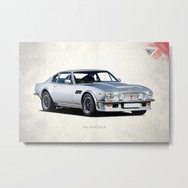 The V8 Vantage Metal Print