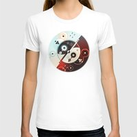 ying yang T-shirts featuring Ying-Yang Blue Version by Luis Pinto