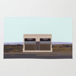 Marfa Installation: A digital illustration Rug