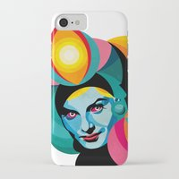 goddess iPhone & iPod Cases featuring Goddess by Alvaro Tapia Hidalgo