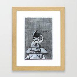 Brain Surgery Framed Art Print