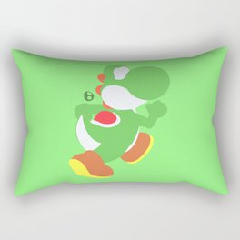 Yoshi(Smash) Rectangular Pillow
