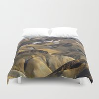 iceland Duvet Covers featuring ICELAND II by Gerard Puigmal