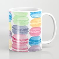 macarons Mugs featuring Macarons by Christine Khoury Illustrations