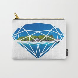 An island in diamond Carry-All Pouch