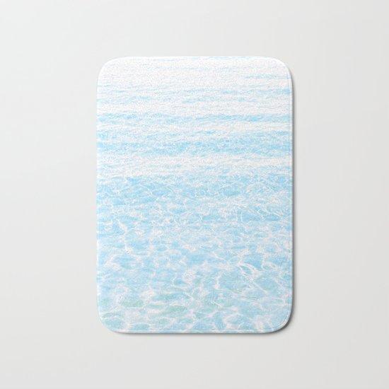 peaceful sea Bath Mat