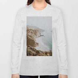 california coast v / big sur Long Sleeve T-shirt