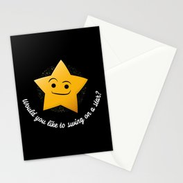 Swing on a Star Stationery Cards