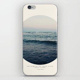 In Storm iPhone Skin