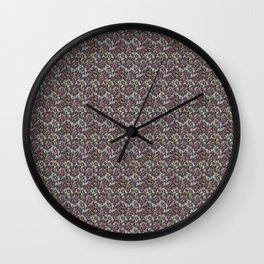 Cubed Butterfly Wall Clock