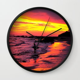 Day's End * Costa Rica Wall Clock