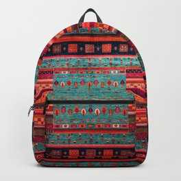 Anthropologie Ortiental Traditional Moroccan Style Artwork Backpack
