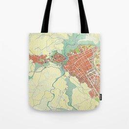 Ronda city map classic Tote Bag
