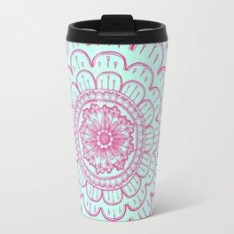 blue&pink Travel Mug