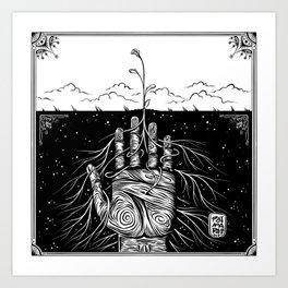 Feed the Soil Art Print