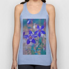 Colorado Columbine Flower Unisex Tank Top