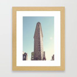 NYC Flatiron Framed Art Print