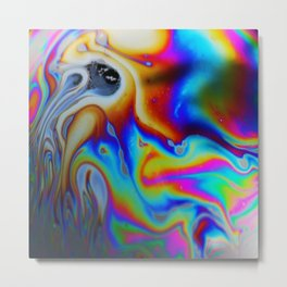 Marbled Granite - Great Colors. Metal Print