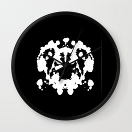 Rorschach Inverted Wall Clock