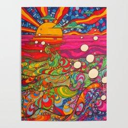 Psychadelic Illustration Poster