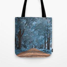 Wye Island Sapphire Road Tote Bag