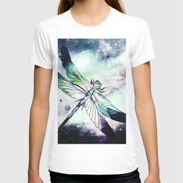 space dragonfly T-shirt