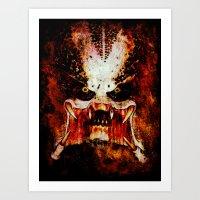 predator Art Prints featuring Predator by Sirenphotos