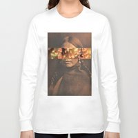 native Long Sleeve T-shirts featuring Native by Djuno Tomsni