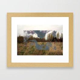 In the Flat Field Framed Art Print