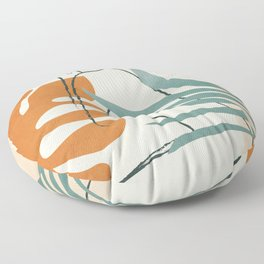 Minimal Line in Nature III Floor Pillow