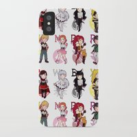 rwby iPhone & iPod Cases featuring RWBY + JNPR by kamikaze43v3r