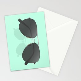 Aviator sunglasses Stationery Cards