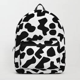 Shapes, Black and White Backpack