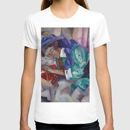 Magnificent 'Gitane Endormie (Sleeping Gypsy)' Dreaming by Robert Rafailovich Falk T-shirt