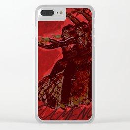 Flamenco! Clear iPhone Case