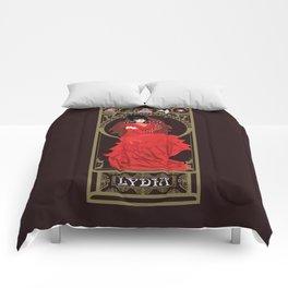 Lydia Nouveau - Beetlejuice Comforters