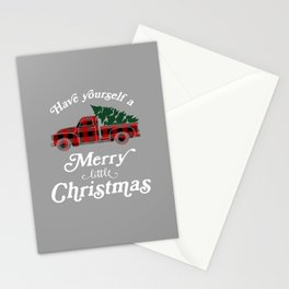 Have yourself a Merry little Christmas Vintage Truck Stationery Cards