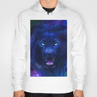 panther Hoodies featuring Panther by Michael White