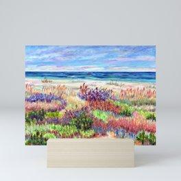 Winter Dunes, Barnegat Light, Long Beach Island, New Jersey Mini Art Print
