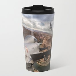 You can run but you can´t hide Travel Mug