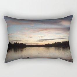 Hyde park sunset. Rectangular Pillow