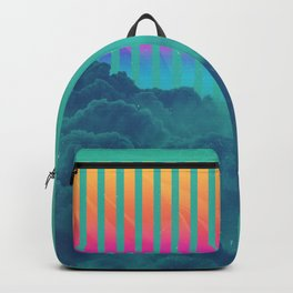 Striped sky Backpack